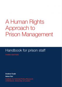 Prison services – Sectors – Curbing Corruption